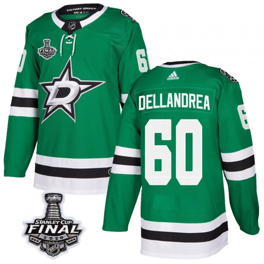 Ty Dellandrea Dallas Stars Youth Adidas Authentic Green Home 2020 Stanley Cup Final Bound Jersey