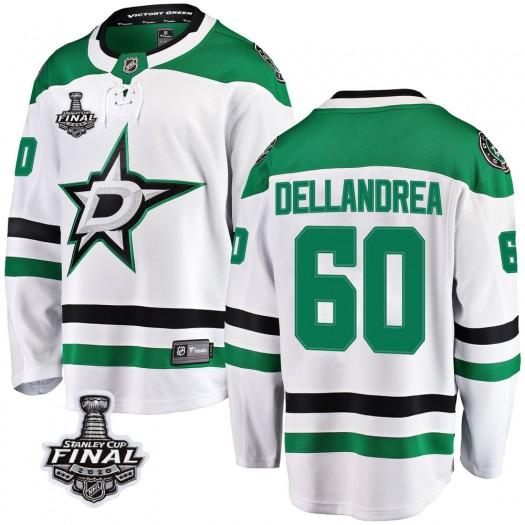 Ty Dellandrea Dallas Stars Youth Fanatics Branded White Breakaway Away 2020 Stanley Cup Final Bound Jersey