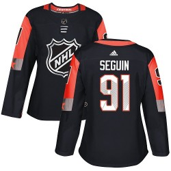 Tyler Seguin Dallas Stars Women's Adidas Authentic Black 2018 All-Star Central Division Jersey