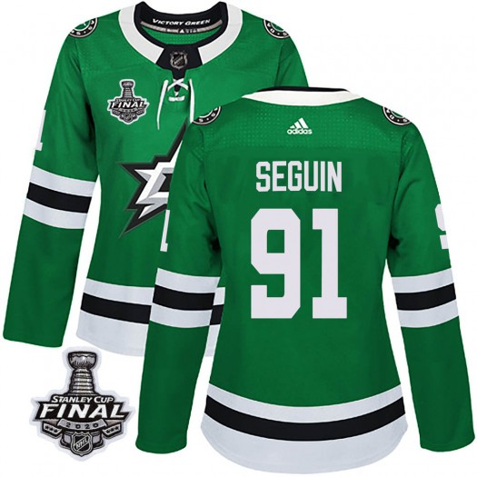 Tyler Seguin Dallas Stars Women's Adidas Authentic Green Home 2020 Stanley Cup Final Bound Jersey