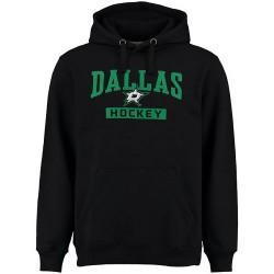 Dallas Stars Men's Black Rinkside City Pride Pullover Hoodie