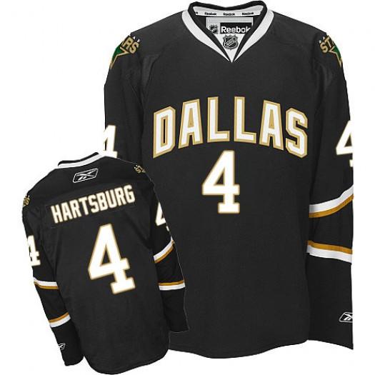 Craig Hartsburg Dallas Stars Men's Reebok Premier Black Jersey