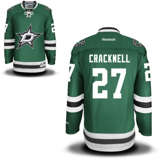Adam Cracknell Dallas Stars Youth Reebok Authentic Green Home Jersey