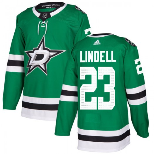 Esa Lindell Dallas Stars Men's Adidas Authentic Green Kelly Jersey